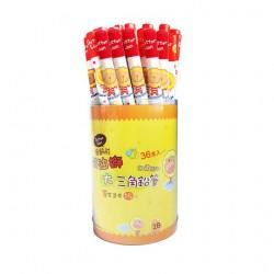 鉛筆 SIMBALION雄獅 奶油獅 PB-802 學齡用 加粗三角鉛筆