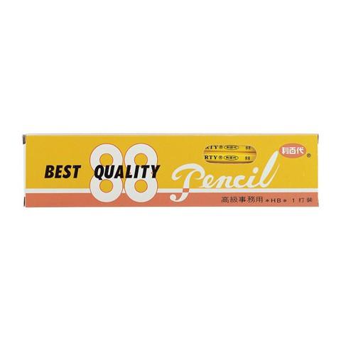 鉛筆 利百代 利百代 88 高級皮頭鉛筆 辦公專用 經典不敗款 12入