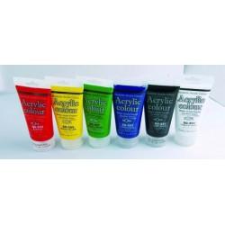 MONA 蒙納 壓克力水彩顏料75ml 共36色
