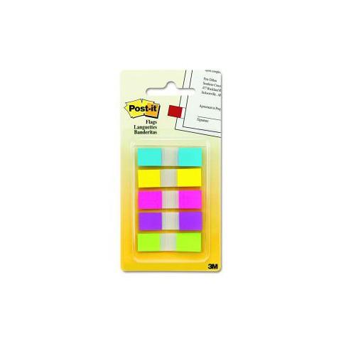 3M 683-5CF 利貼 五色抽取式 指示標籤