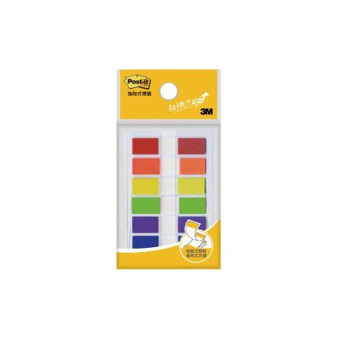 3M 683-6C 利貼 六色抽取式 指示標籤