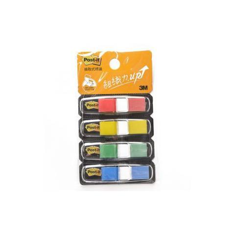 3M 683-4CD 利貼 繽紛四色 抽取式 指示標籤