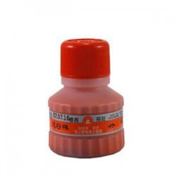 吳竹 紅硃砂液 書畫專用 (紅蓋) 60cc