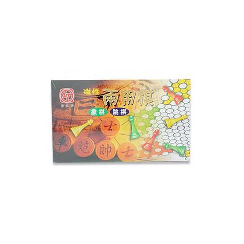 雷鳥 磁性兩用棋(跳棋.象棋)LT305