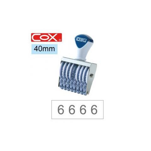 COX三燕 號碼印/3號/8連/ 40mm
