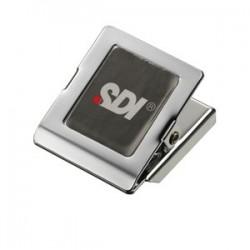 SDI手牌 方型大強力磁夾 NO.4287(長45×寬45mm)