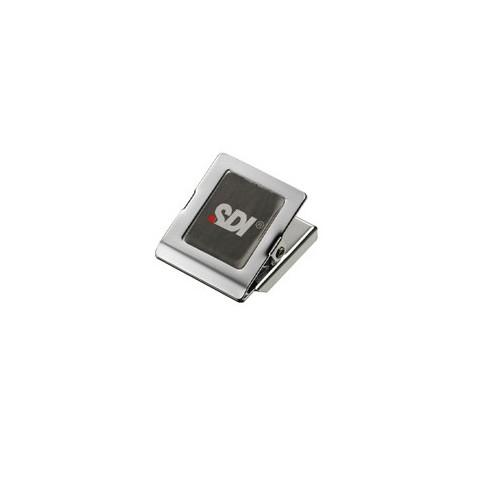 SDI手牌 方型小強力磁夾 NO.4285(長30×寬30mm)