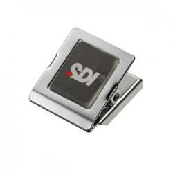 SDI手牌 方型中強力磁夾 NO.4286(長35×寬35mm)