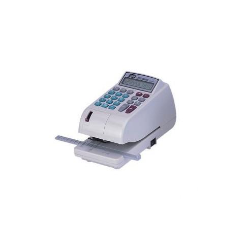 LIFE徠福 LC-600A 10位數 電子支票機 (中文字) (手動夾紙.附計算機功能)