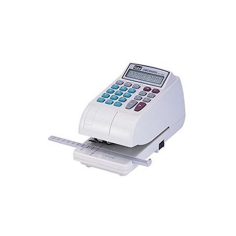 LIFE徠福 LC-700 10位數 電子支票機 (阿拉伯數字) (自動夾紙.附計算機功能)