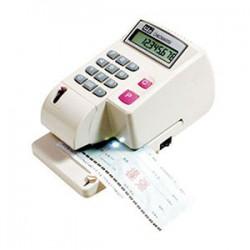 LIFE徠福 LC-800 10位數 光電投影微電腦支票機 (手動夾紙) (阿拉伯數字)