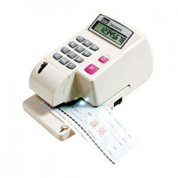 LIFE徠福 LC-800A 10位數 光電投影微電腦支票機 (手動夾紙) (中文字)