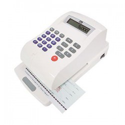 LIFE徠福 LC-900A 15位數 光電投影微電腦支票機 (自動夾紙) (中文字)