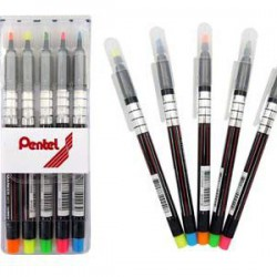 飛龍Pentel 螢光筆 S512-5 (5色組)