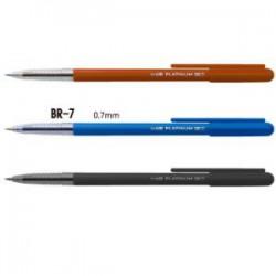 日本Platinum白金 原子筆 BR-7 / 0.7mm (12入)