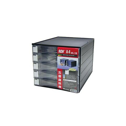 SDI手牌 A4桌上型五層資料櫃NO.1847N