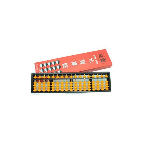 元寶算盤 NO.7017(塑膠框)國小算盤4*17