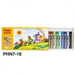 飛龍Pentel 16色粉蠟筆 PHN8-16 (PHN7)