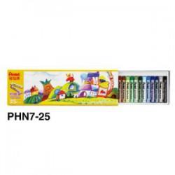 飛龍Pentel 25色粉蠟筆 PHN8-25 (PHN7)