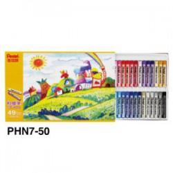 飛龍Pentel 49色50支粉蠟筆PHN8-50 (PHN7)