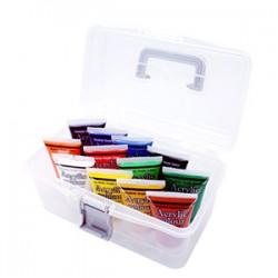MONA蒙娜 25ml壓克力水彩顏料 12色手提組