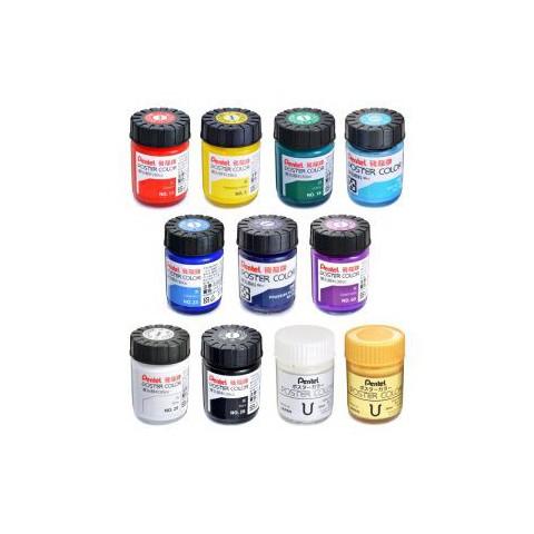 飛龍Pentel 30cc廣告顏料 POS-T 螢光色