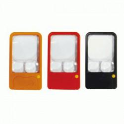 LIFE徠福 口袋型照明放大鏡(3倍.5倍.7倍) NO.7371