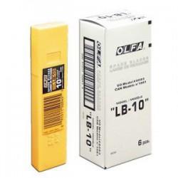 OLFA 大美工刀片 LB-10 18mm (10片入/盒)