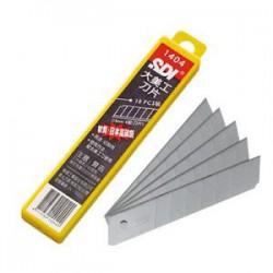 SDI手牌 18mm 大美工刀片NO.1404 (10片入/盒)