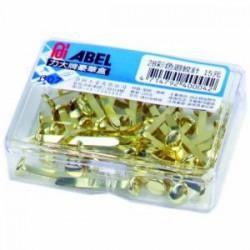 ABEL力大 力大 835 雙腳釘NO.5 (40支/盒)