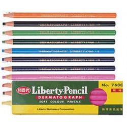 利百代 NO.7600紙捲油蠟筆