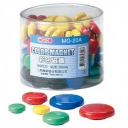 COX 桶裝彩色磁鐵