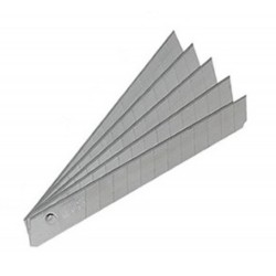 SDI手牌 9mm 高硬度小美工刀片(10片入/盒) NO.1503