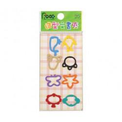 足勇 NO.35003 彩色造型文書夾 12包/排