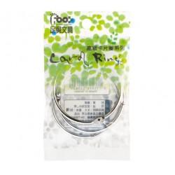 """足勇 NO.52065 吊袋高級卡片圈 (金屬) 2""""(5cm) 3個/包"""