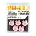足勇 NO.25018 小豬造型圖釘 5支/盒
