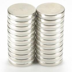 [超厚]DIY 超強力磁鐵 圓 厚10mm 直徑10~20mm