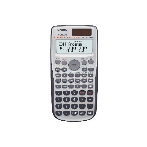 [公司貨2年保固]CASIO 計算機 FX-3650PII 以更多的函數範圍與自動括號插入進行程式編輯的計算