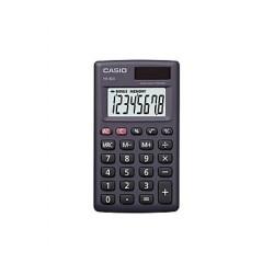 [公司貨2年保固]CASIO 計算機 HS-8LV-BK 國家考試專用機8位數/輕巧外型另有白色可供選擇(已停產)
