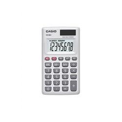 [公司貨2年保固]CASIO 計算機 HS-8LV-WE 國家考試專用機8位數/輕巧外型另有黑色可供選擇(已停產)