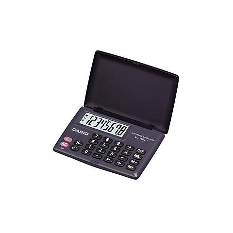 [公司貨2年保固]CASIO 計算機 LC-160LV-BK 國家考試專用機8位數/摺疊設計另有白色可供選擇