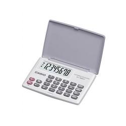 [公司貨2年保固]CASIO 計算機 LC-160LV-WE 國家考試專用機8位數/摺疊設計另有黑色可供選擇