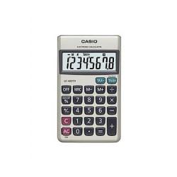 [公司貨2年保固]CASIO 計算機 LC-403TV 8位數/金屬面板/大型顯示幕