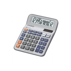 [公司貨2年保固]CASIO 計算機 MC-12M 開店利器-找零計算12位數/大型顯示幕/獨立記憶體