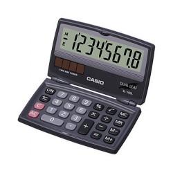 [公司貨2年保固]CASIO 計算機 SL-100L 國家考試專用機8位數/摺疊方便攜帶設計