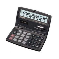 [公司貨2年保固]CASIO 計算機 SL-240LB 國家考試專用機14位數/摺疊設計利潤計算功能