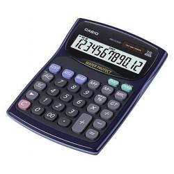 [公司貨2年保固]CASIO 計算機 WD-220MS-BU 新一代防水防塵計算機12位數/大型顯示幕/稅率計算