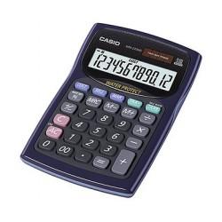 [公司貨2年保固]CASIO 計算機 WM-220MS-BU 新一代防水防塵計算機12位數/大型顯示幕/稅率計算