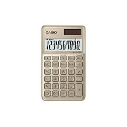[公司貨2年保固]CASIO 計算機 SL-1000SC 香檳計算機10位數獨立記憶體百分比計算