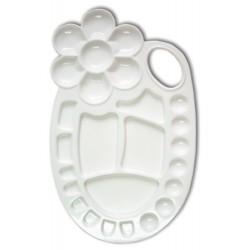 南冠 OKEY小專家調色盤(白) 24.6 x 14.6cm
